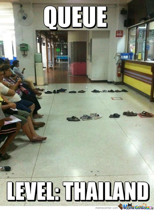 Queue Level:thailand