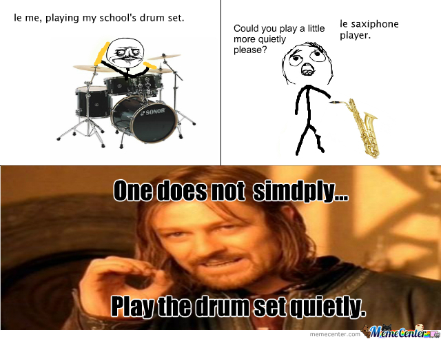 quiet drum set what_o_348167 quiet drum set? what!?!? by funkdonkey meme center