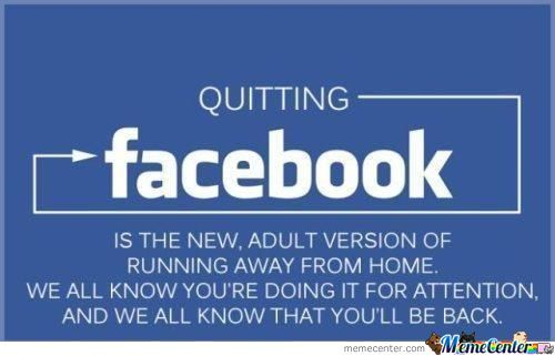 Quit Facebook. I Dare You.