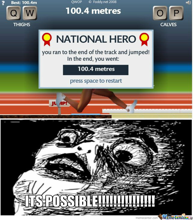 Qwop is annoying by silvercastor meme center qwop is annoying ccuart Image collections