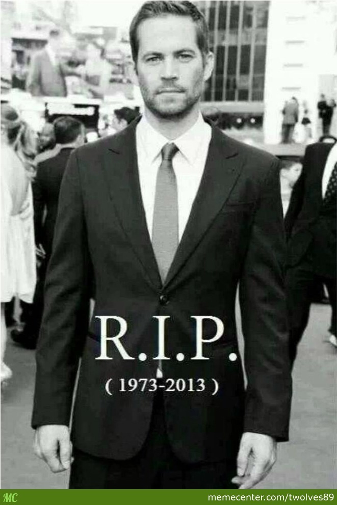r i p paul walker Posts about rip paul walker written by gregory 'arteest' akers and speed on the beat.