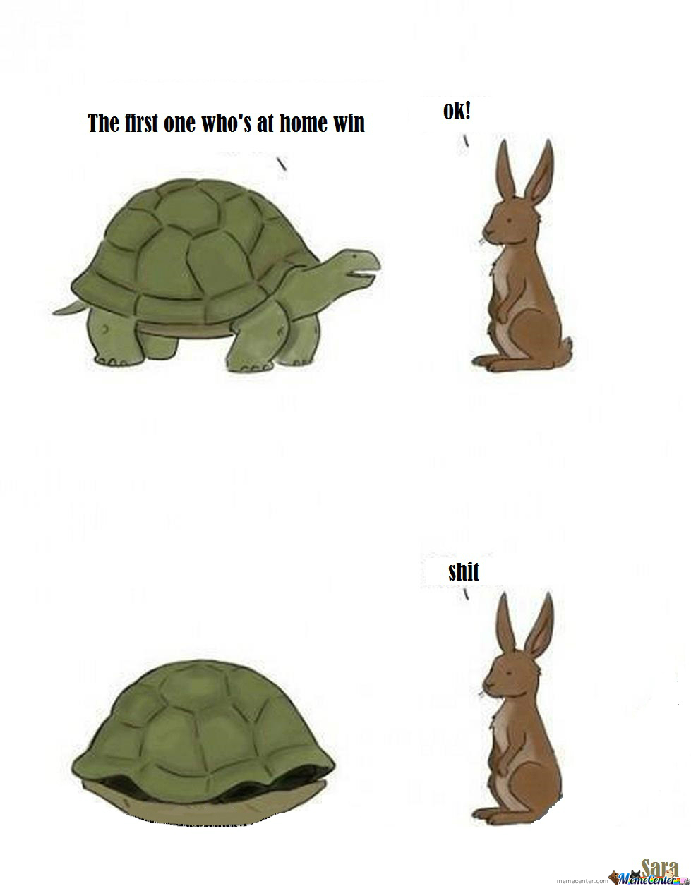 Rabbits Are Loser