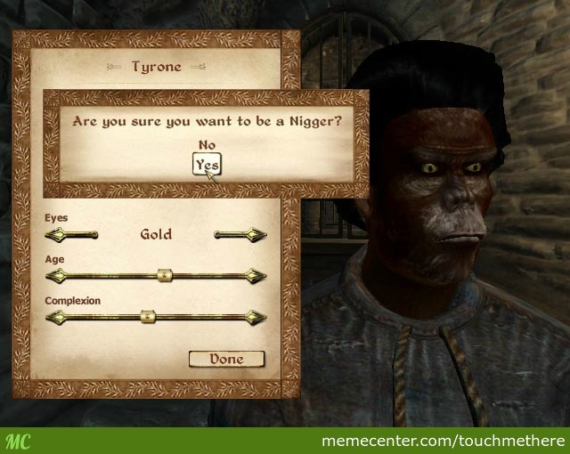 Racism, Brought To You By The Elder Scrolls Iv Oblivion