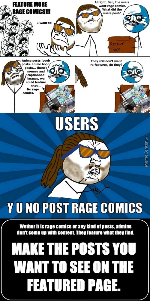 Rage Comics - A Public Service Announcement