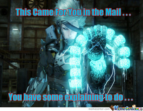 Raiden Questions Your Sexuality!