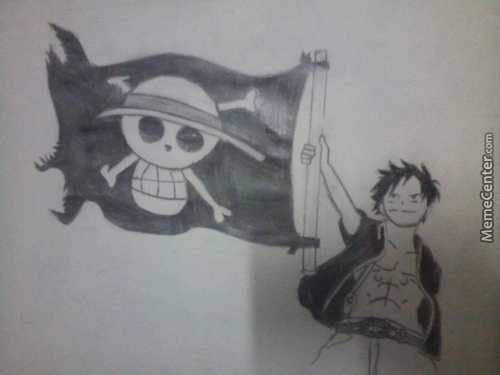 Raise The Flag. One Piece