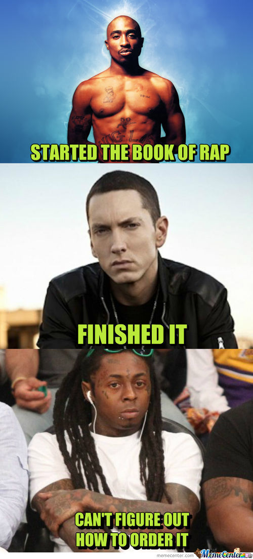 Rap Music In A Nutshell.