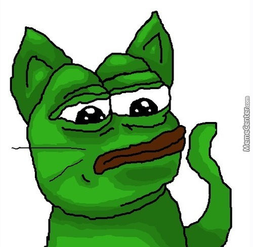 Rare Pepe (Did It Myself!)