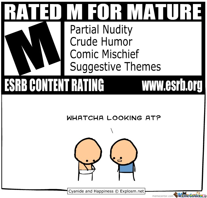 Rated M For Mature