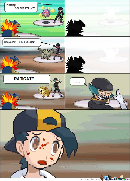 Raticate Use Explosion