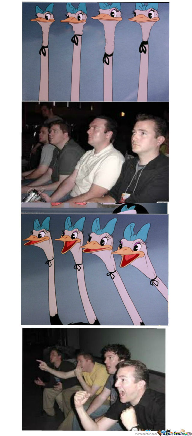 Reaction Ostriches