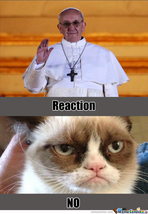 Reaction To The New Pope