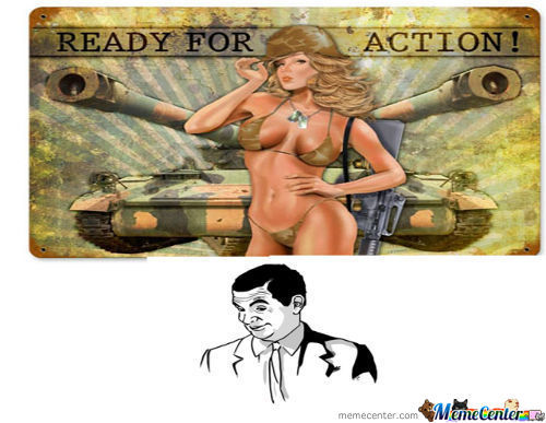 Ready For Action -.o