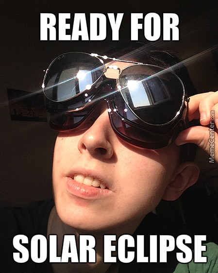 Ready For Solar Eclipse