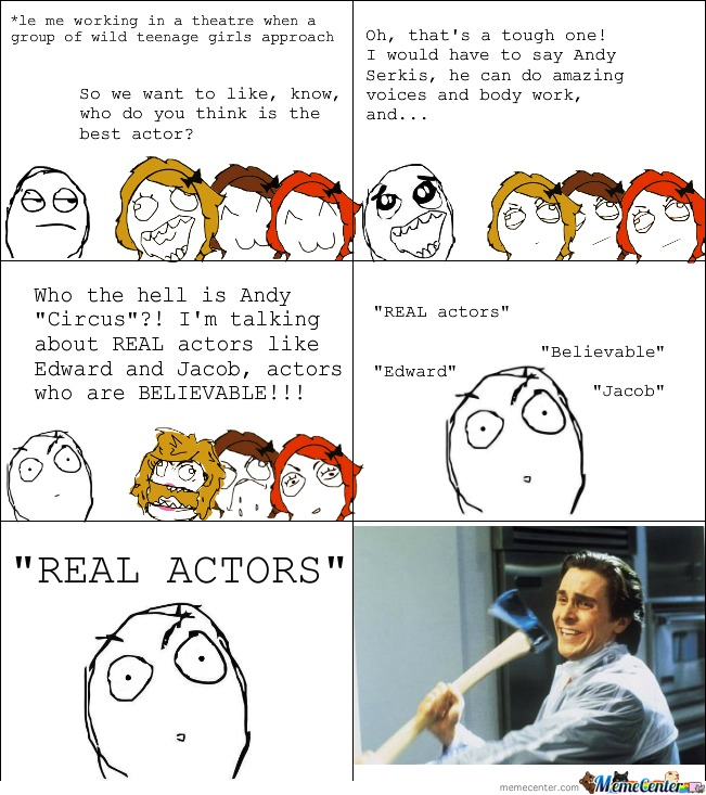Real Actor....