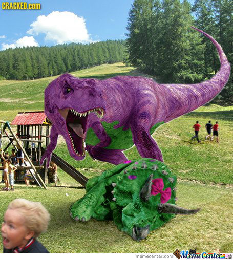 Real Barney The Dinosaur