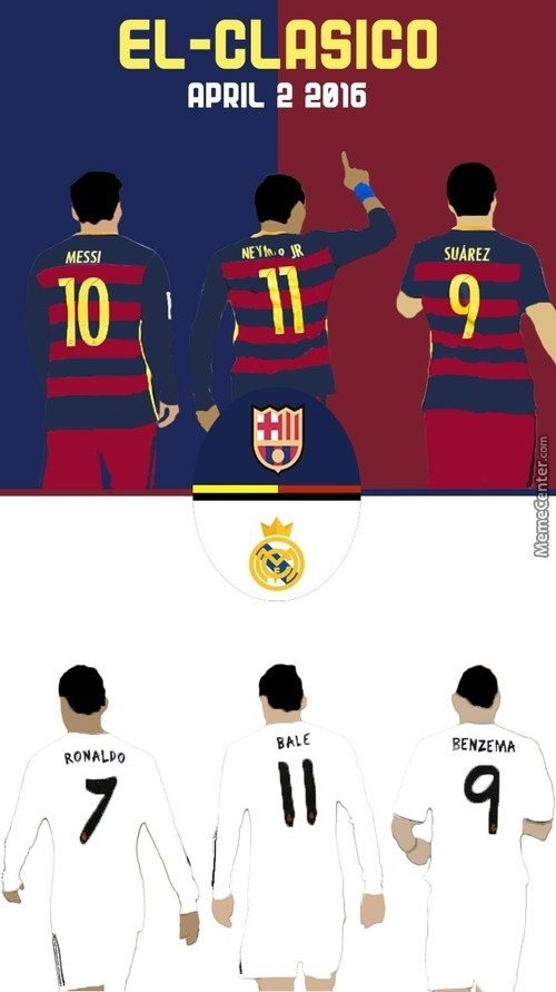 Real Clasico Weekend, Who Tf Hyped.