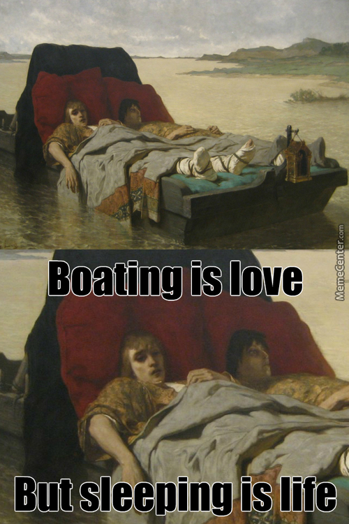 Real Friends Nap Together On Bed Boats