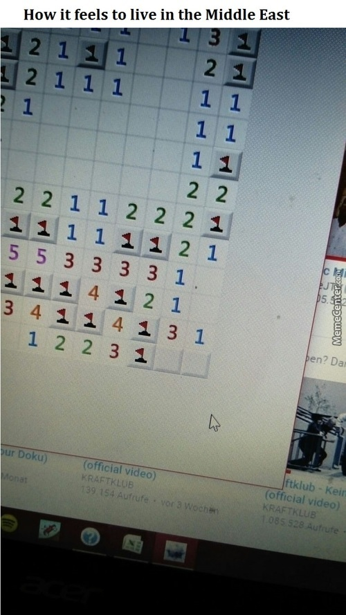 Real Life Minesweeper