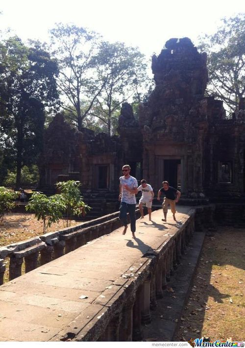 Real Life Temple Run