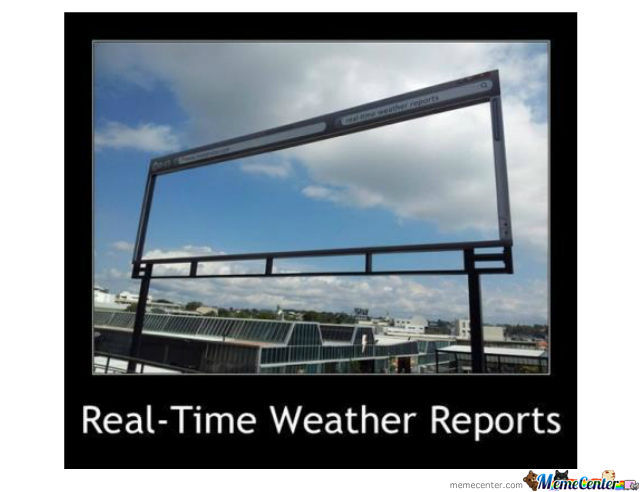 Real-Time Weather Reports