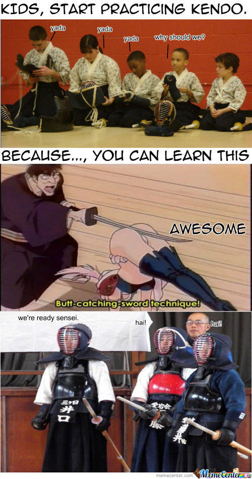 Reason To Learn Kendo