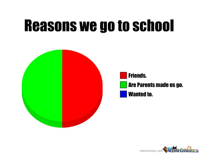 Reasons We Go To School