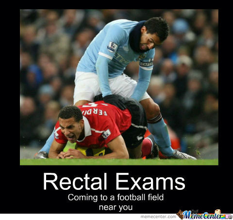 Rectal Exams On The Pitch