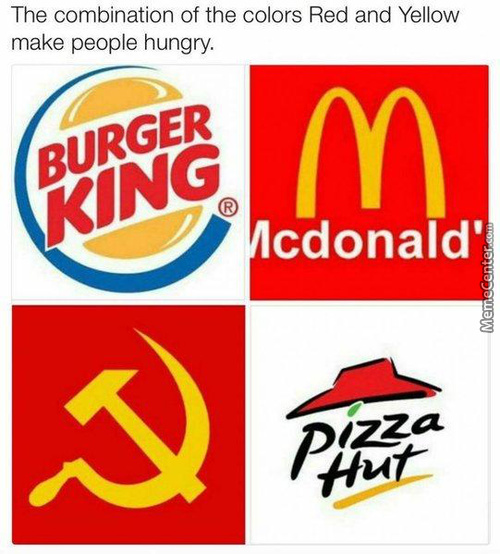 Red & Yellow Colors Really Do Make People Hungry