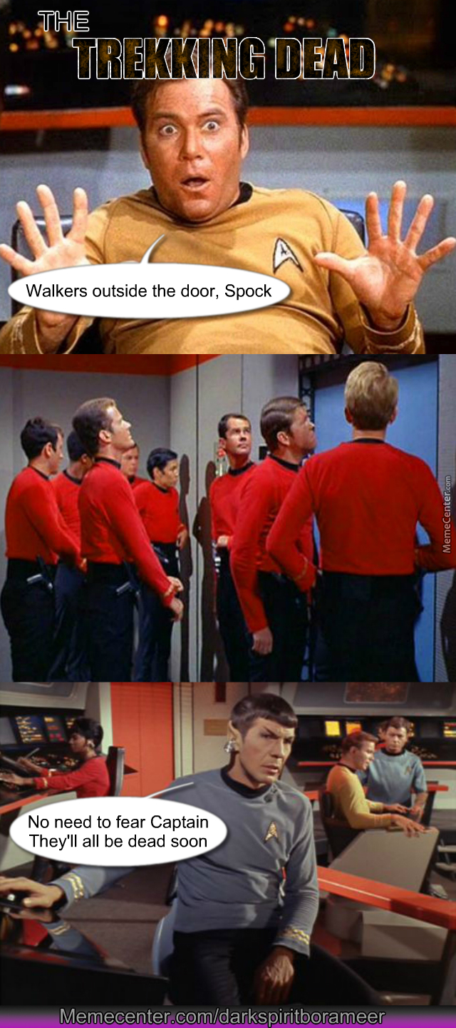 red shirts the walking dead of star trek_o_4115779 red shirts the walking dead of star trek by darkspiritborameer