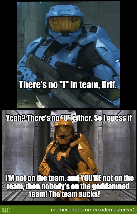 red vs blue awesome moment_o_2794045 red vs blue awesome moment by recyclebin meme center