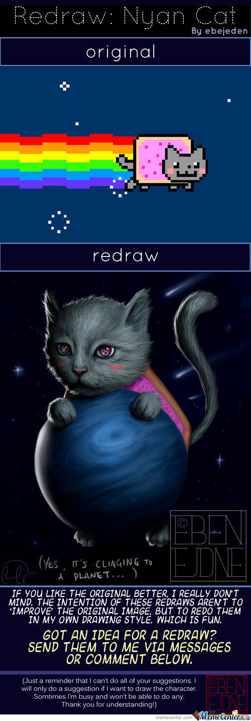 Redraw: Nyan Cat