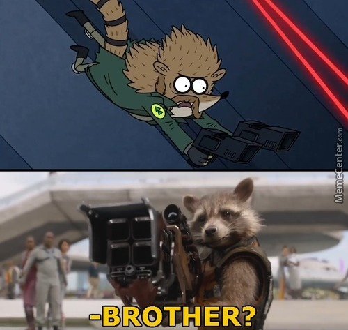 Regular Show The Movie 2: The Ntergalactic Park Rangers Meet The Guardians Of The Galaxy