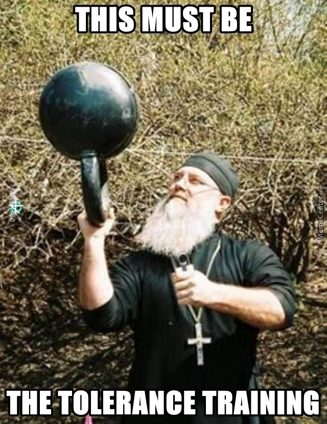 Religion  Is Getting Physical