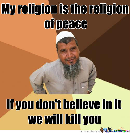 Religion Of Peace Or Pieces?