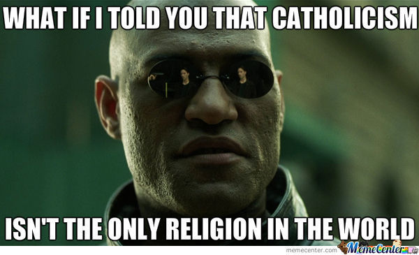 Religon That, Religion There, Nigga You Speak Only About Catholics