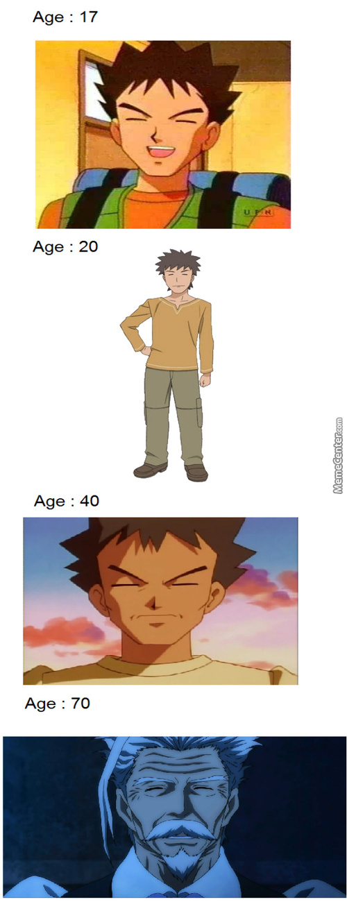 Remember Brock? That's Him Now. Feel Old Yet?