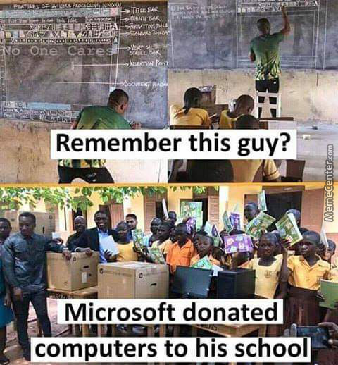 Remember This Guy ?? Microsoft