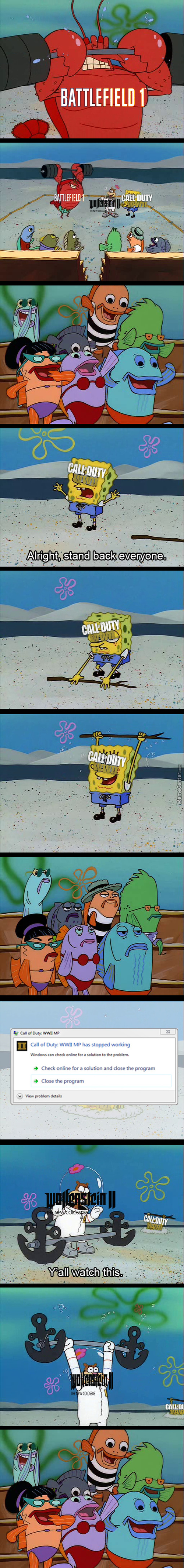 Remember When Everyone Was Hyped For Cod Wwii For 5 Minutes ?