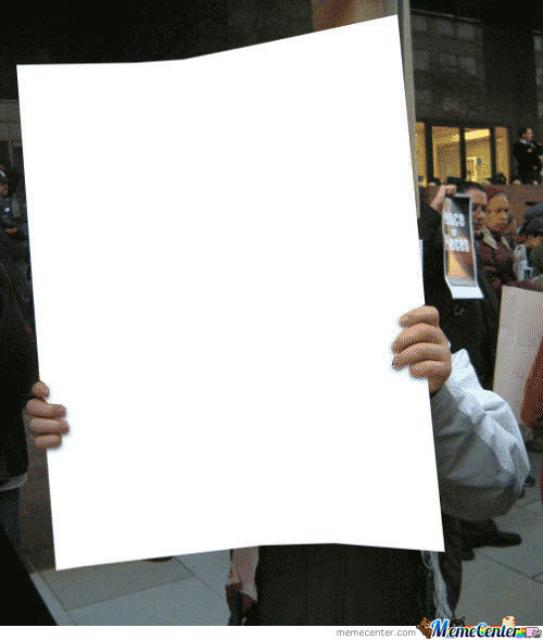 Remix And Make Your Own Protest Poster