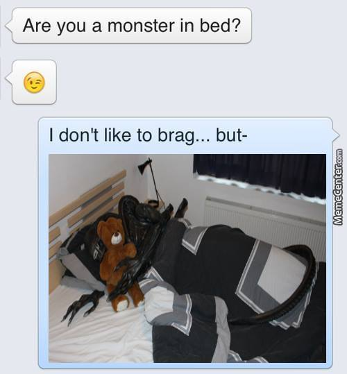 Remix : Monster In Bed
