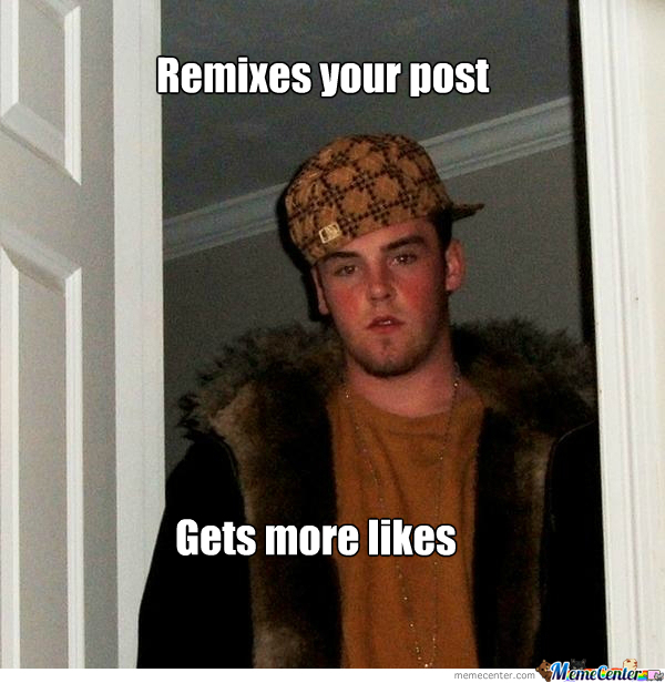 Remixes Your Post Gets More Likes