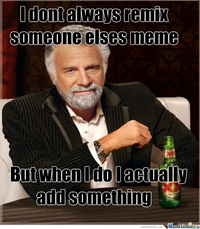 Remixing Other People's Memes