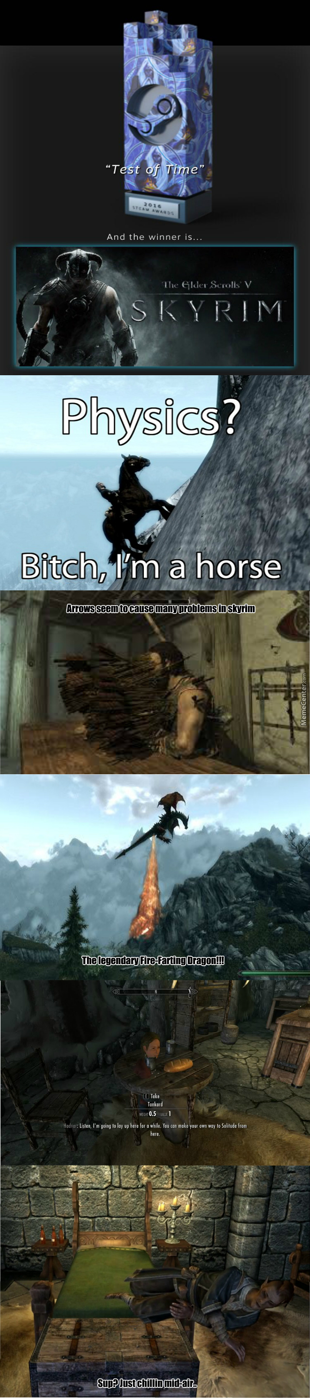 Replayed Skyrim And Remembered Its True Gems