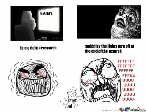 research rage