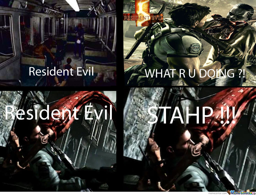Resident Evil Is Steadily Devolving