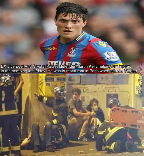 Respect To Martin Kelly