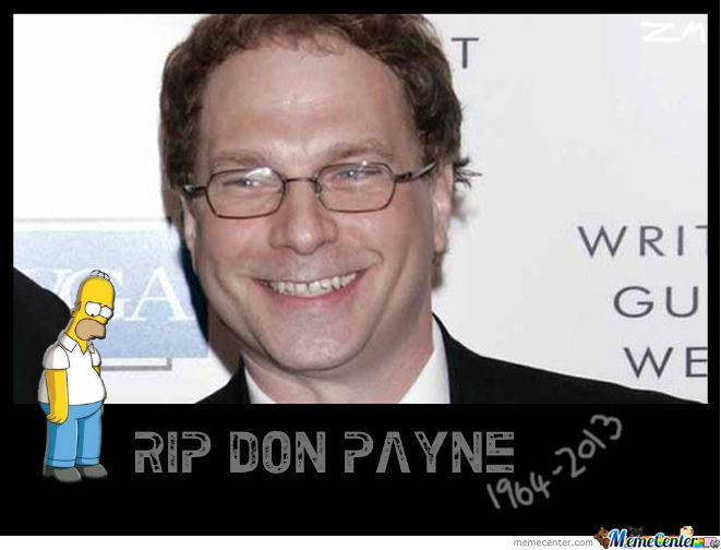 Rest In Peace Don Payne