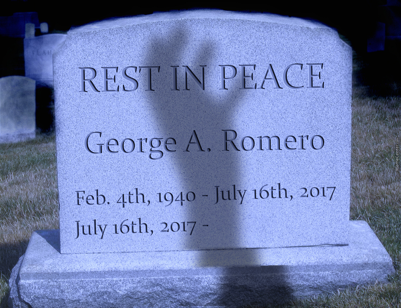 Rest In Peace George Romero