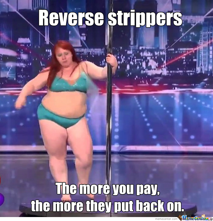 Ladies fun with strippers